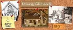 Cast Resin Pieces : Young At Heart, Quarter Scale Miniatures by Debbie Young