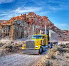 Big Rig Trucks, Semi Trucks, Cool Trucks, Peterbilt 379, Peterbilt Trucks, Custom Big Rigs, Custom Trucks, Trucks And Girls, Diesel Trucks