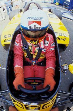 Auto & Motorrad: Teile 1983 Poster Programm F1 German Grand Prix Hockenheim Arnoux Piquet Lauda Affiche 100% Original Poster & Bilder