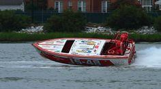 Hampton Cup Regatta 2012 - Class - Jersey Speed Skiff    JS-48 (MIDNIGHT RUN). OWNER - DONNA JEBSON. DRIVER - JACOB W LICONE JR