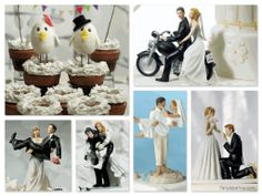 Specialty Theme Wedding Cake Topperscan often also be used as party centerpieces – think Paris theme party, princess parties, Las Vegas bac...