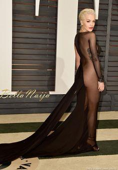 Rita Ora at the vanity fair after party oscars 2015