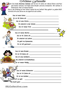 Tag für Tag_Mein Tagesablauf | Chang'e 3, Tags and Worksheets
