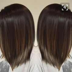 Winter color for short hair
