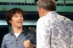 Benedict Cumberbatch - Top Gear (GIF)...~ What a great moment in TG history :)