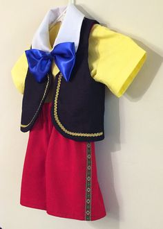Little Pinocchio Costume, for Toddlers & Kids in size 2T to size 8