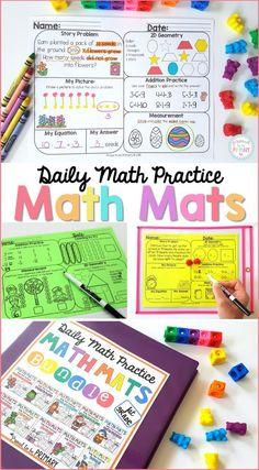 Math Mats are compre