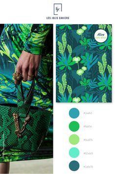 Créez votre cahier personnalisé à partir de jolies nuances qui suivent les tendances de la mode et de la déco. #nuancier #palette #inspiration #mode #vogue # #tropical #vert #turquoise #cahier #notebook #personnalise #lesjoliscahiers Vert Turquoise, Inspiration Mode, Le Jolie, Made In France, Palette, Vogue, Shades, Paper Mill, Pallets