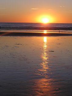 Beaches of the Central Coast, CA #sunset #beach #photography