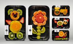 fruta en bandeja