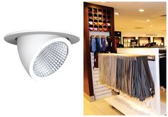 LED SPOTLIGHT G PRO SERIES - Excellent light suitable for commercial industries, efficient light source, emits stable beam of light and proven to last for years. #spotlight #commerciallights #indoorlights
