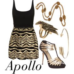 """Apollo"" by weetziebats on Polyvore"