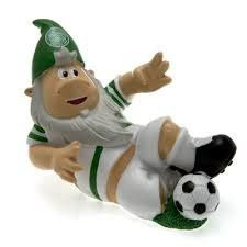 Celtic F.C Slide Tackle Football Garden Gnome