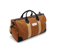 Duck Canvas Flight Holdall Bag by London Undercover