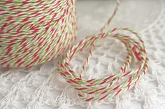 Christmas Divine Bakers Twine    http://theribbonreel.co.uk/category/2542-wwwtheribbonreelcoukdivine-bakers-twine.aspx
