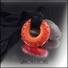 RESERVED for Sara Ginnovations lampwork Trick or by ginnovations