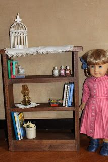 """MADE: Pieces For Reese: 18"""" Doll: Large Bookshelf"""