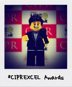 Our #CIPREXCEL MC is Matt Baker! Keep following for more photos! www.cipr.co.uk/excellence