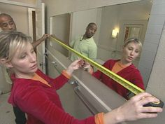 HOW TO FRAME A BATHROOM MIRROR DIY Network Wooden Frame