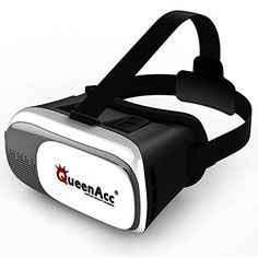 (QueenAcc VR virtual reality VR glasses 3D Virtual Reality Headset for Smartphone,Samsung,iPhone, etc.) Buy-Accessories.net