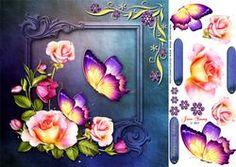Butterflies & Roses
