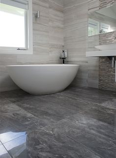 Stone Mix Tile Minimalist House Design, Minimalist Home, Floor Design, Tile Design, Foyer Flooring, Bath Tiles, Style Tile, Small Bathroom, Bathrooms
