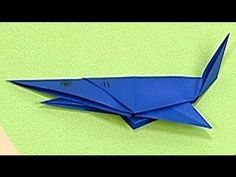 ▶ How to make a Paper Shark (Tutorial) - Paper Friends 39 | Origami for Kids - YouTube