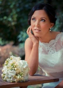 Beautiful bride pre-wedding in the Dandenongs