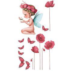 Sticker Petite fée Léonelle