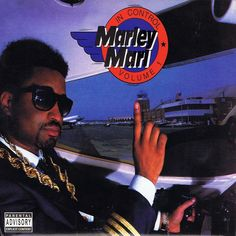 """I never had any chains, those in the cover are Big Daddy Kane and Kool G Rap's. I borrowed those for the shot... you see on the back cover, I don't have any chains on, they have them on!"" #marleymarl"