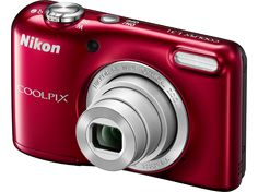 NIKON Coolpix L31 vörös digitális fényképezőgép