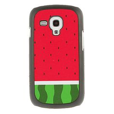 Watermelon Drawing Pattern Protective Hard Back Cover Case for Samsung Galaxy S3 Mini I8190 – EUR € 2.75