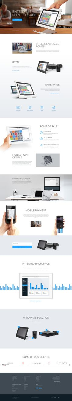 Technology Website Layout >> 25 Trendy Web Designs For Your Inspiration Design Web, Web Design Company, Tool Design, Page Design, Design Trends, Website Layout, Web Layout, Layout Design, Webdesign Inspiration