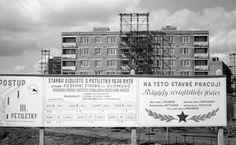 Rozestavěné sídliště III. pětiletky z 60. let v okolí Foerstrovy ulice