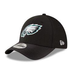 Philadelphia Eagles New Era Youth Color Rush 39THIRTY Flex Hat - Black  Philadelphia Eagles Hats a45ea67e6ec