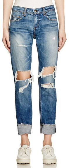 Pin for Later: The Top 8 Denim Trends to Know This Spring  Rag and Bone 'The Dre' Boyfriend Jeans in Kennedy ($250)