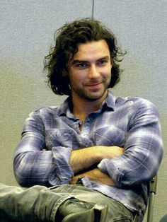 Aidan Turner. He plays the dwarf Kili in The Hobbit: An Unexpected Journey. Best lookin' dwarf I've ever seen!