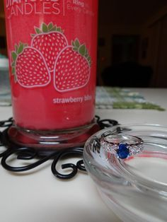 Strawberry Bliss definitely gave a good ring this time around.