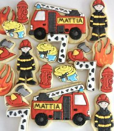 Firefighter (Decorated Cookies)