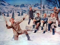 Seven Brides For Seven Brothers, 1954 one of my favorite scenes in this movie!