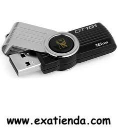 Ya disponible Memoria USB 2.0 Kingston 16gb dt101g2/16gb   (por sólo 16.89 € IVA incluído):   -Capacidad: 16GB -Interface: USB 2.0 -Velocidad lectura:10MB/s -Velocidad escritura: 5MB/s -Otros:--   -P/N: DT101G2/16GB   Garantía de 24 meses.  http://www.exabyteinformatica.com/tienda/3456-memoria-usb-2-0-kingston-16gb-dt101g2-16gb #memoria #exabyteinformatica