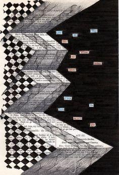found poetry   Zentangle   Pinterest