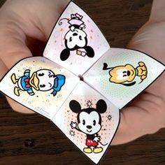 Cutie Catcher | Printables | Disney Family.com (for waiting in line)