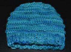 This Knit Baby Hat is Almost as Easy as Stockinette, But Cuter: Colorful Cuteness