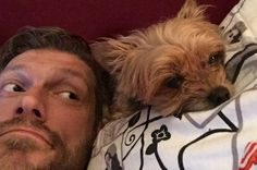 My Adam and his dog Hope