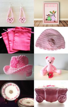 Pretty in Pink  by Doris Ann on Etsy--Pinned with TreasuryPin.com