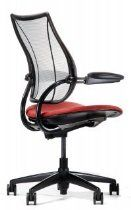 L11C Humanscale Liberty - Task Chair With Height Adjustable Gel Arms, Matching Textile Cover