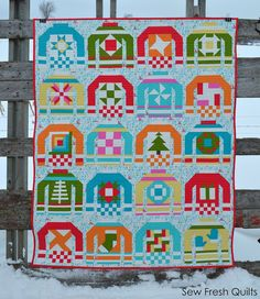 Sew Fresh Quilts: Ugly Christmas Sweaters - First Finishes of 2016