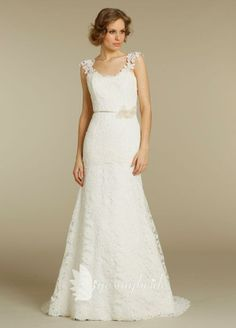 <3 Pretty lace shoulders & back. The only thing I dislike is the string on the back at the neck. $299