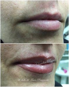 contorno labbra con sfumatura intensa